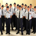 Photo by Capt. Jeri Gonwa, WIWG PAO:  The 2012 Wisconsin Wing Drill Team